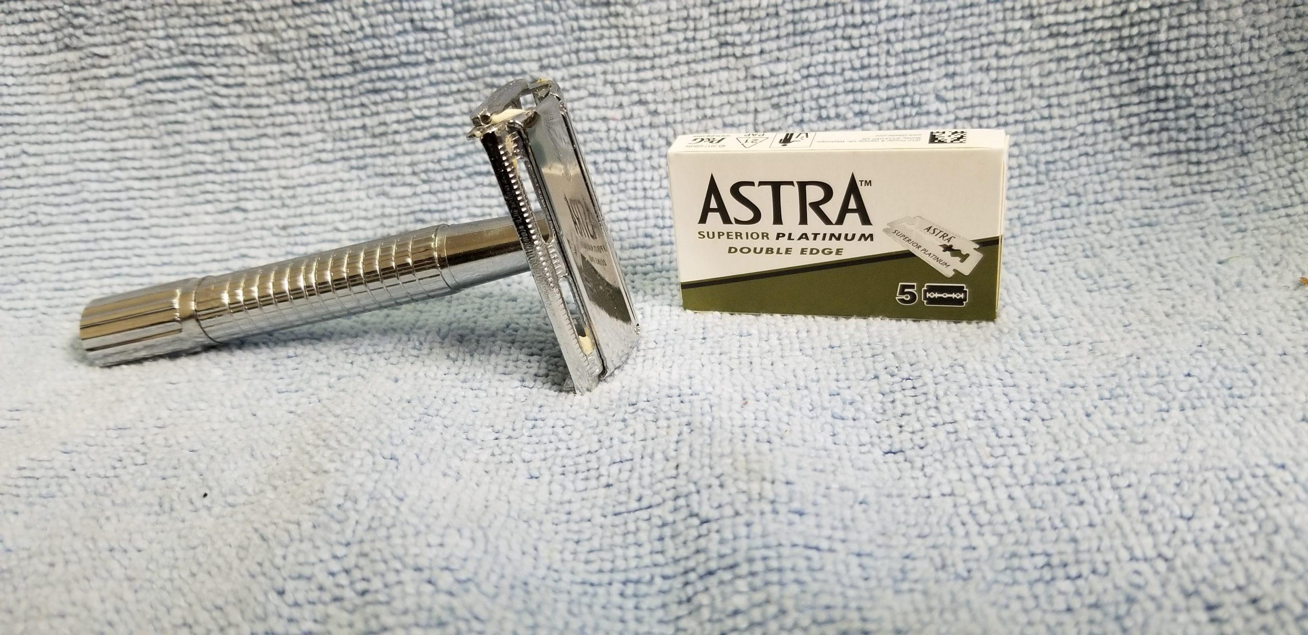 Double Edge Razor Astra Blades